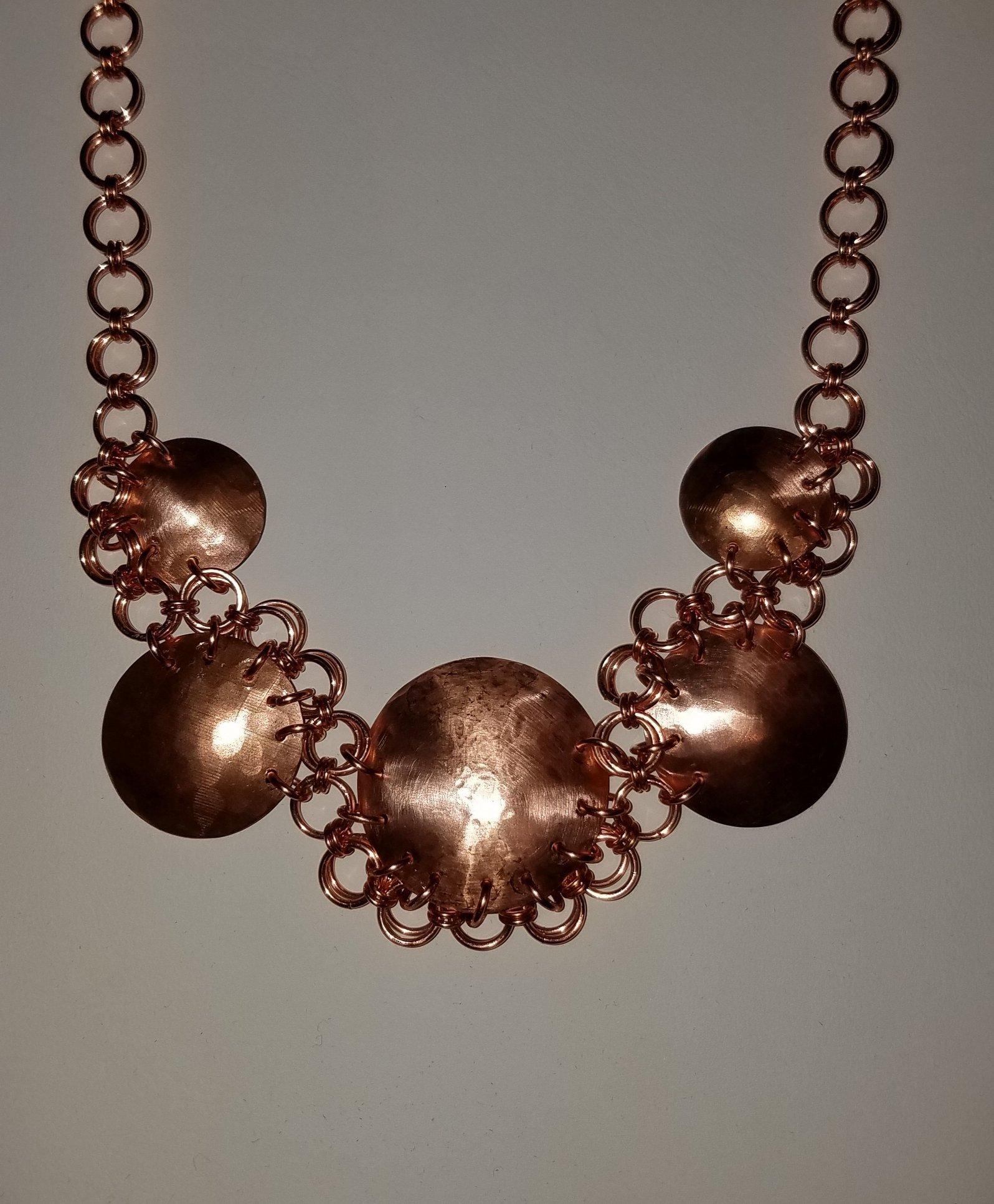 copper chain maille