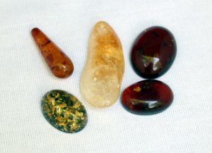 Amber comes in many colors