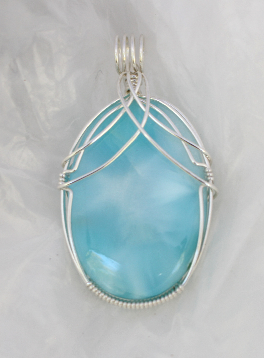Larimar: Caribbean waters in a gemstone!