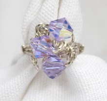Three-Bead Cluster Ring
