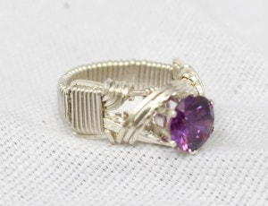 Hidden Crystal Ring Side View